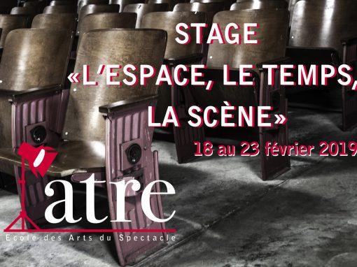Stage «L'espace, le temps, la scène»: 18-23 février